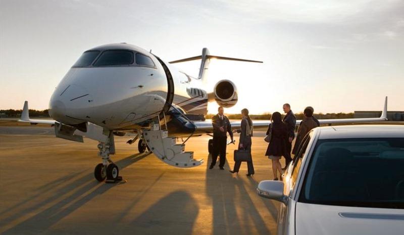 6.private jet