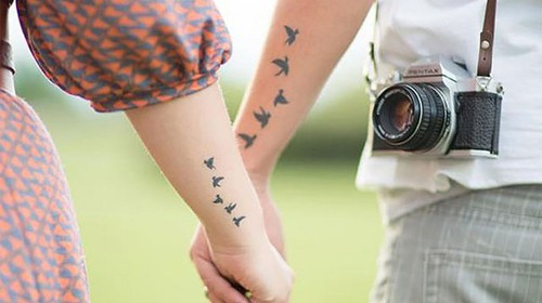 20 Couple tattoo designs that are amazingly thought of