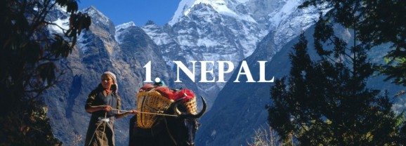 Nepal tops the list of 'The Rough Guide' countries to visit in 2016
