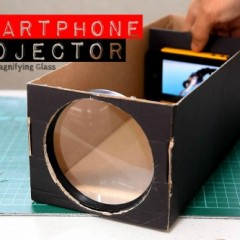 Building a Smartphone Projector with a Shoebox